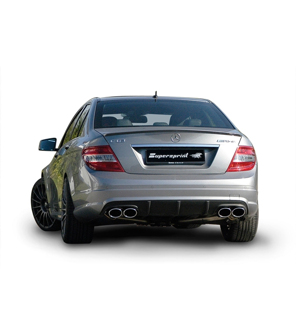 Race Sound Performance Exhausts & Products - C63 AMG [W204]